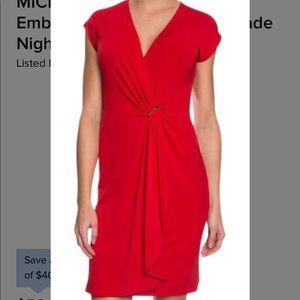 NWT red Michael Kohrs dress
